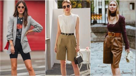 4 nguyên tắc mặc quần short bermuda tôn dáng