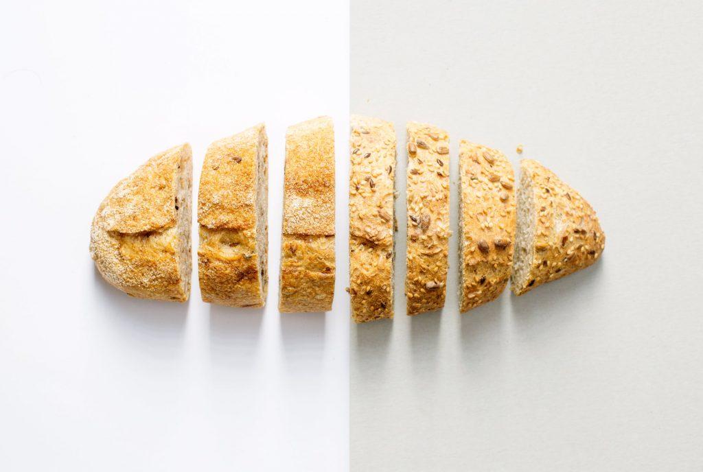 tinh bột - bánh mì