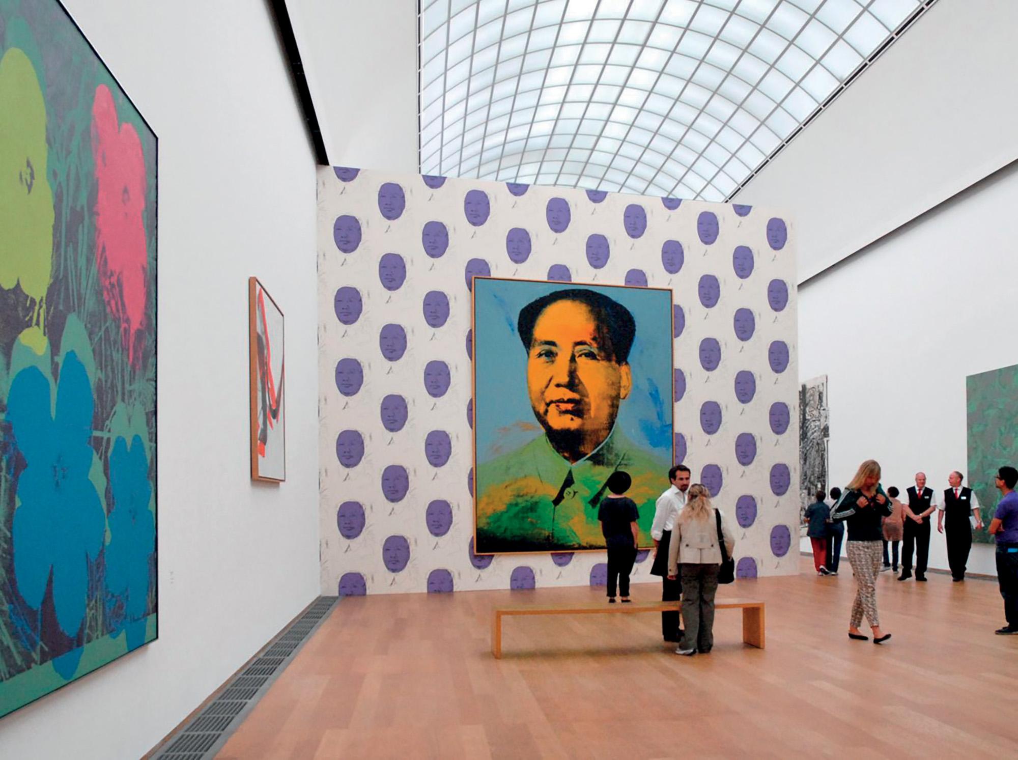 triển lãm tác phẩm của Andy Warhol