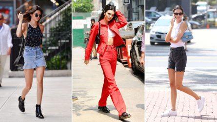 Kendall Jenner gợi ý cách mặc đẹp với mọi kiểu đồ denim