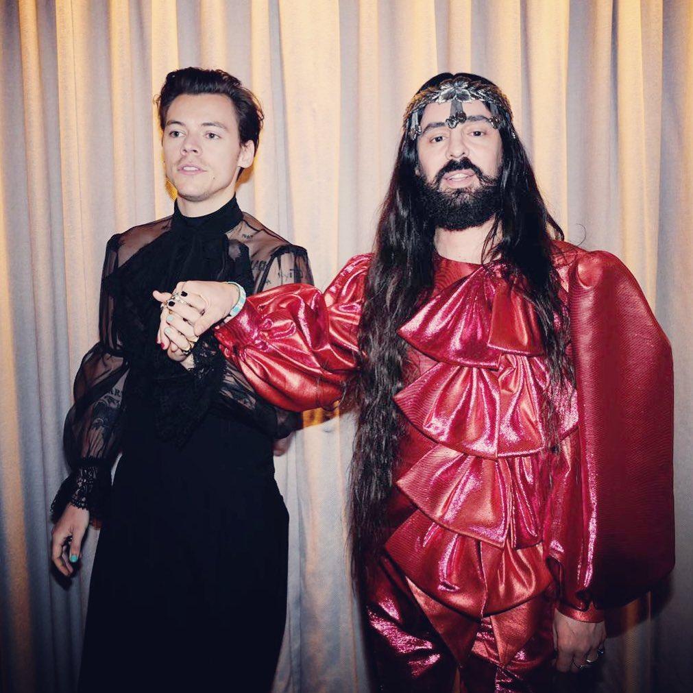 Những câu nói hay - Alessandro Michele và Harry Style tại Met Gala