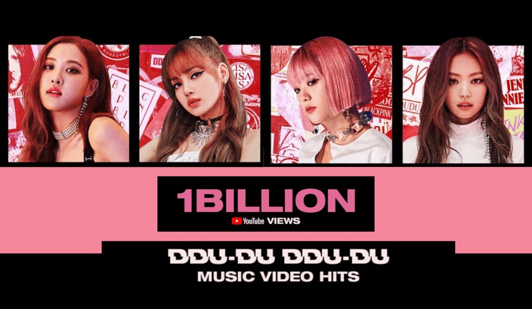 sao kpop BLACKPINK được 1 tỉ view