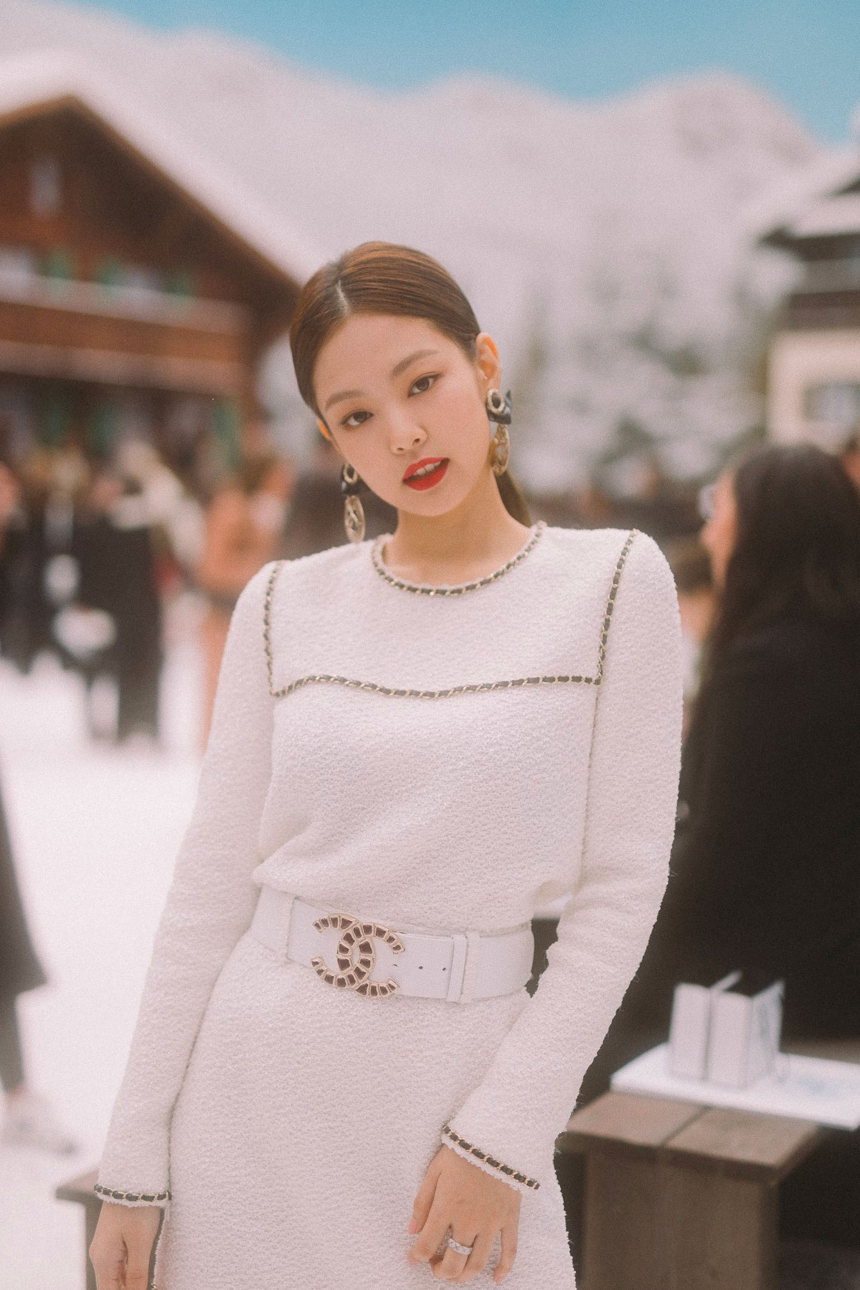 sao kpop Jennie tham dự show Chanel tại tuần lễ thời trang Paris vào tháng 3/2019