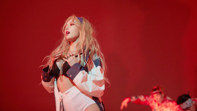 ca sĩ hyuna hình music video lip and hip hậu trường