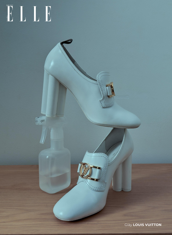bộ ảnh phụ kiện thời trang Xuân Hè 2020 giày Louis Vuitton