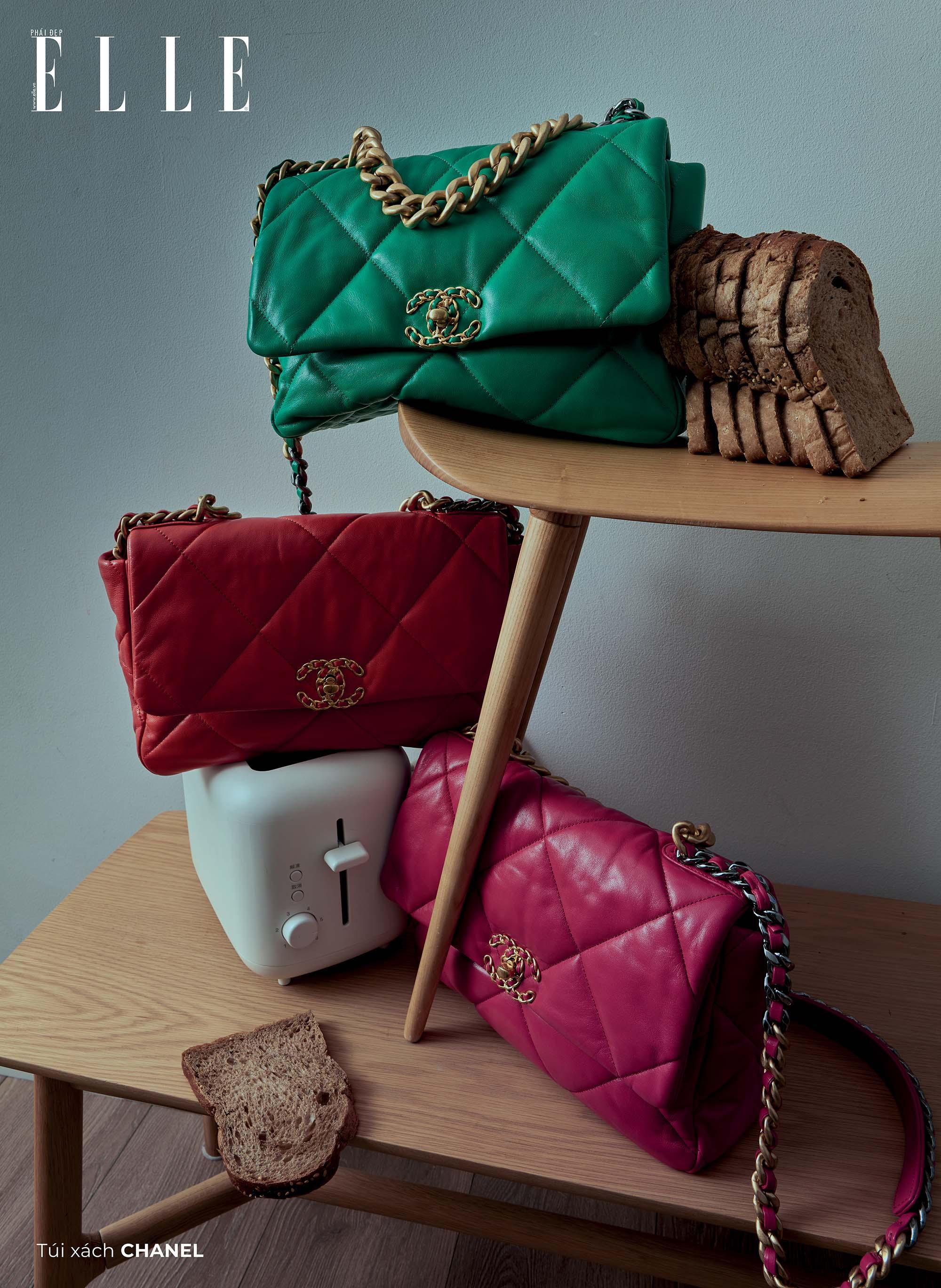 bộ ảnh phụ kiện thời trang Xuân Hè 2020 túi xách Chanel