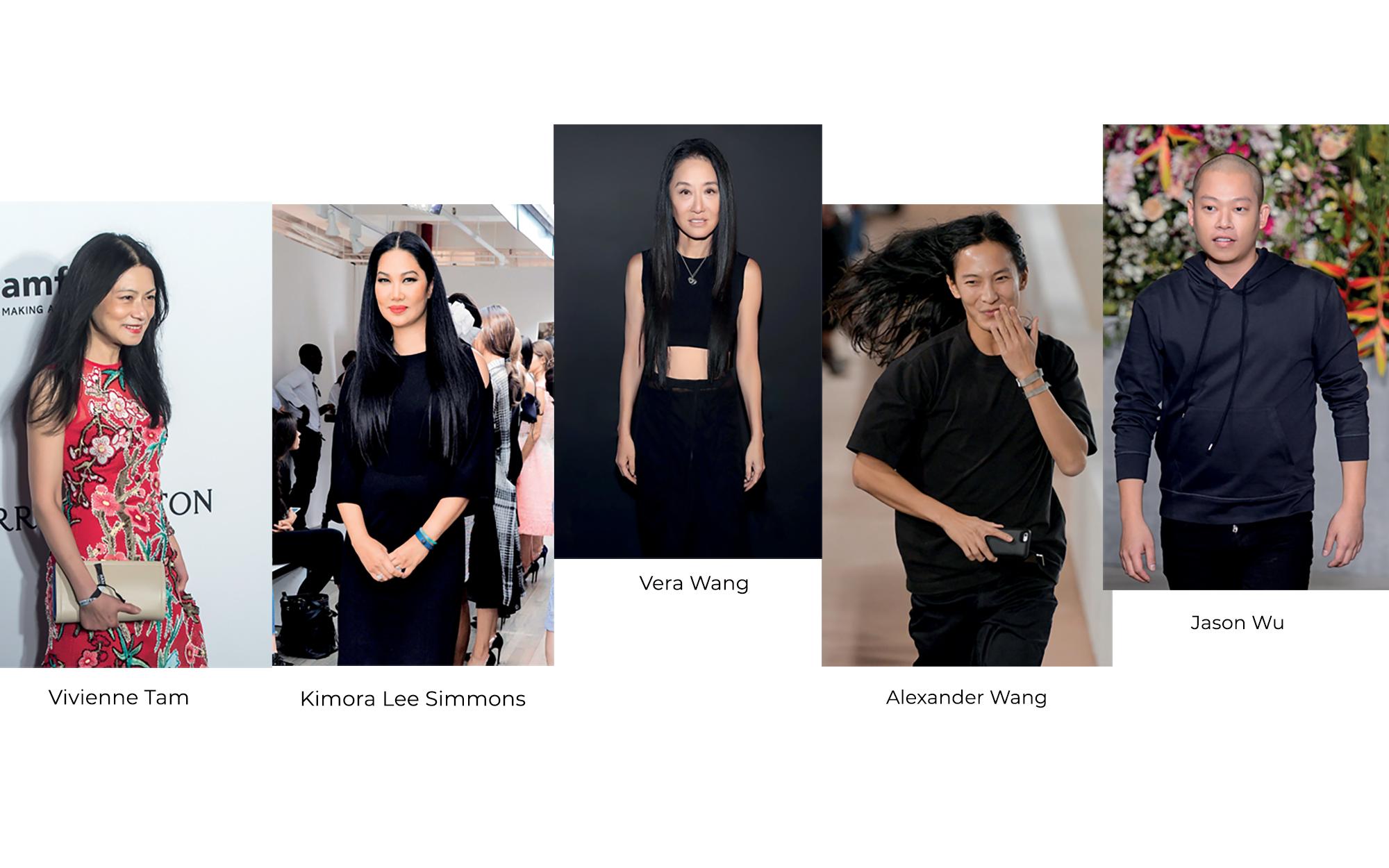 nhà thiết kế thời trang gốc Á nổi tiếng