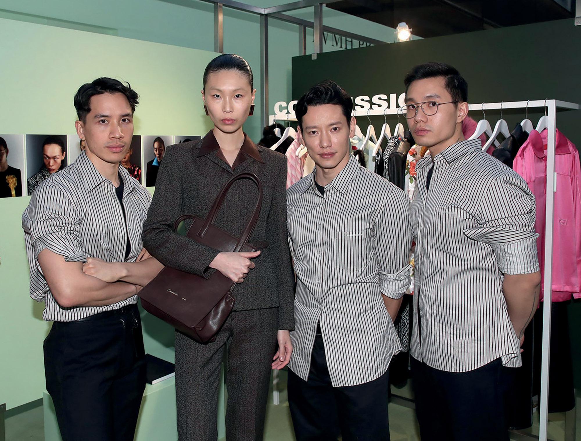 nhà thiết kế thời trang của thương hiệu Commission