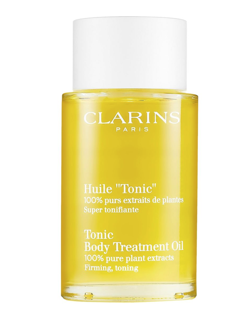 Dầu trị rạn da - Clarins Tonic Body Treatment Oil.