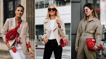 6 kiểu túi xách đỏ giúp bạn nổi bật trong mọi hoàn cảnh