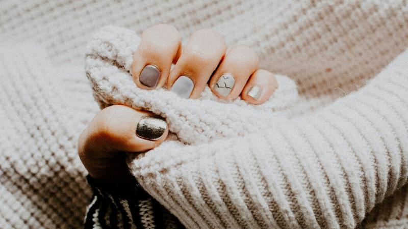kiểu nail đẹp - pastel