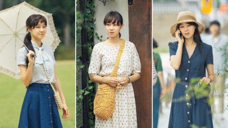 Khám phá tủ đồ retro của Gong Hyo Jin trong phim Khi Hoa Trà Nở