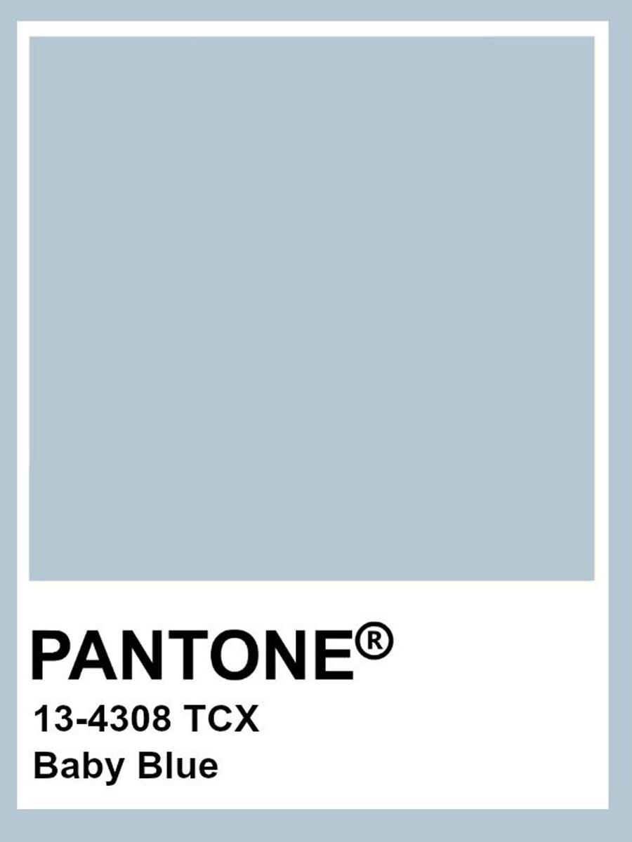 Mã màu xanh baby trên hệ thống Pantone