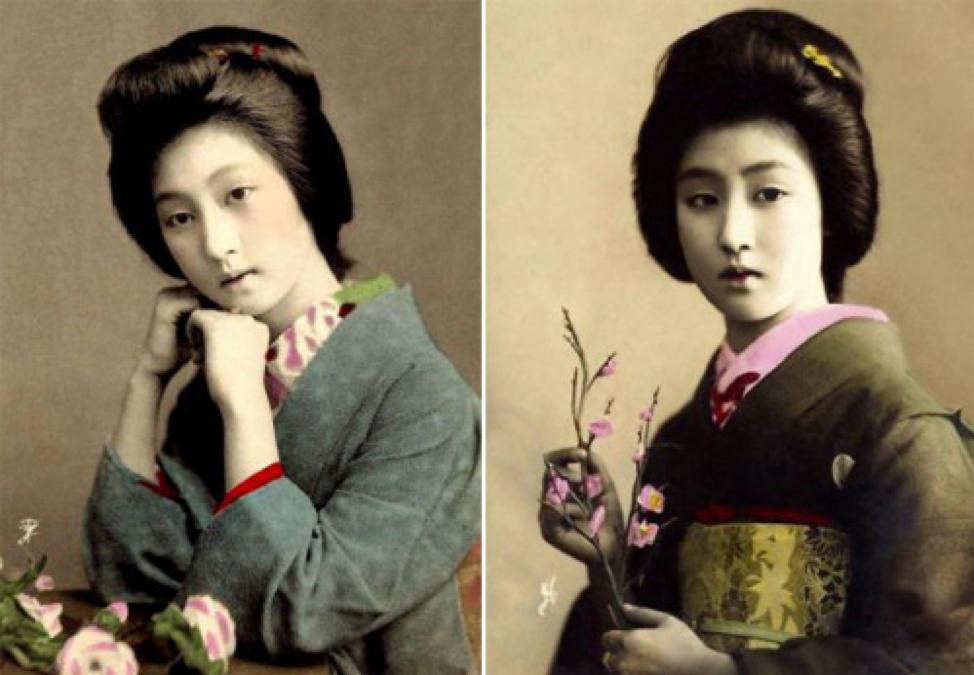mernard - geisha