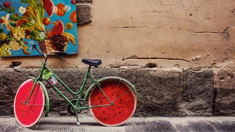 chiếc xe đạp nhàm chán
