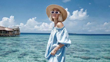 Màu xanh baby - Thiên không lộng gió của thời trang ngày Hè