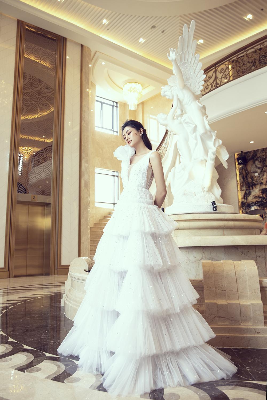 bst váy cưới im yours asiana plaza váy xếp tầng trắng
