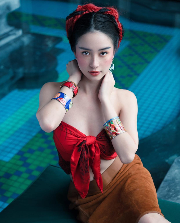 Jun Vũ mặc bandana