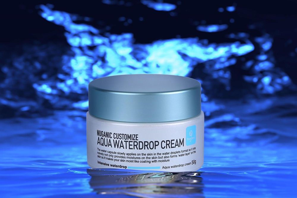 Kem dưỡng ẩm Nuganic Customize Aqua Waterdrop Cream