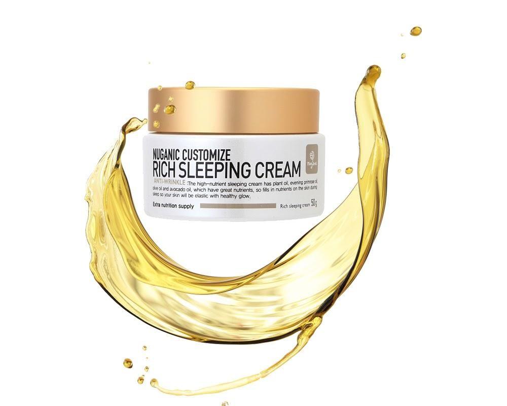 Kem dưỡng da ban đêm Nuganic Customize Rich Sleeping Cream