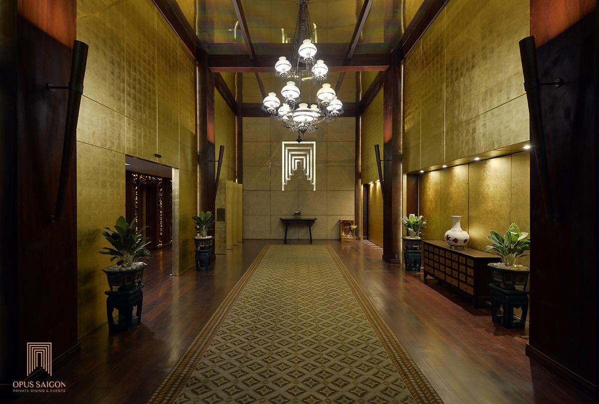 lobby opus saigon phòng riêng tư