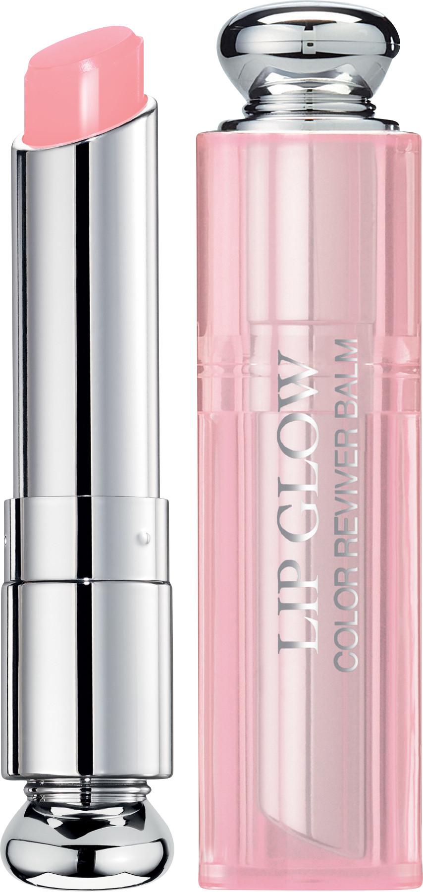 cách trang điểm Son dưỡng môi Dior Addict Lip Glow To The Mark 204 Coral.
