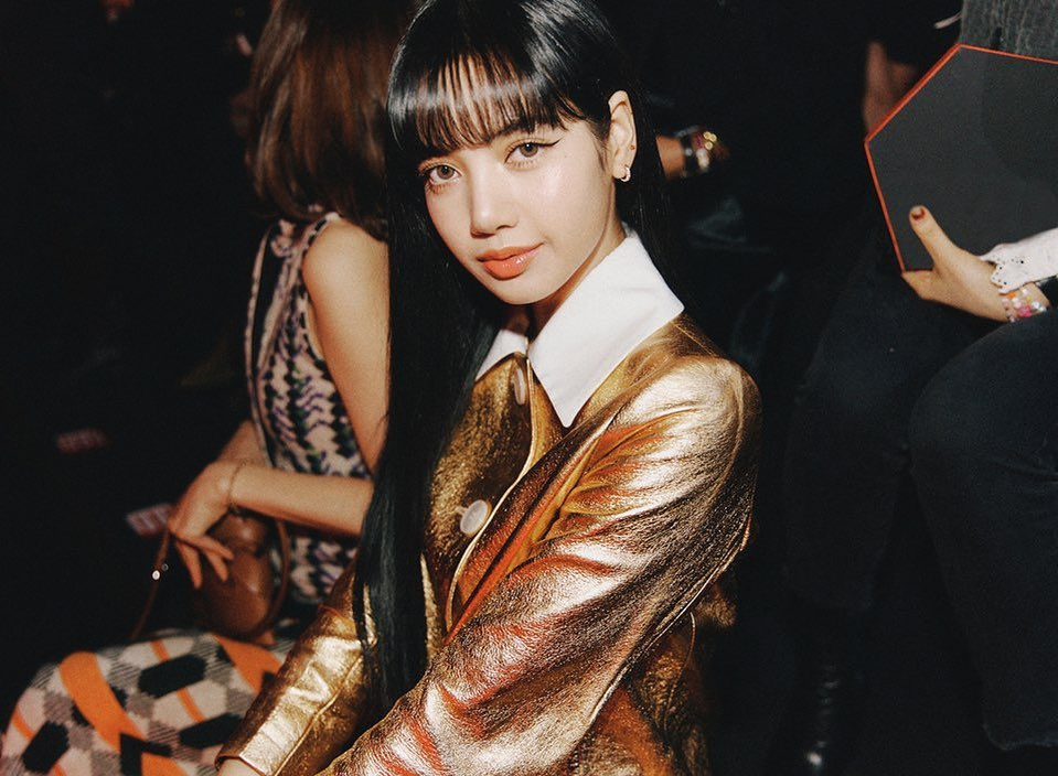 Lisa tại tuần lễ thời trang Milan