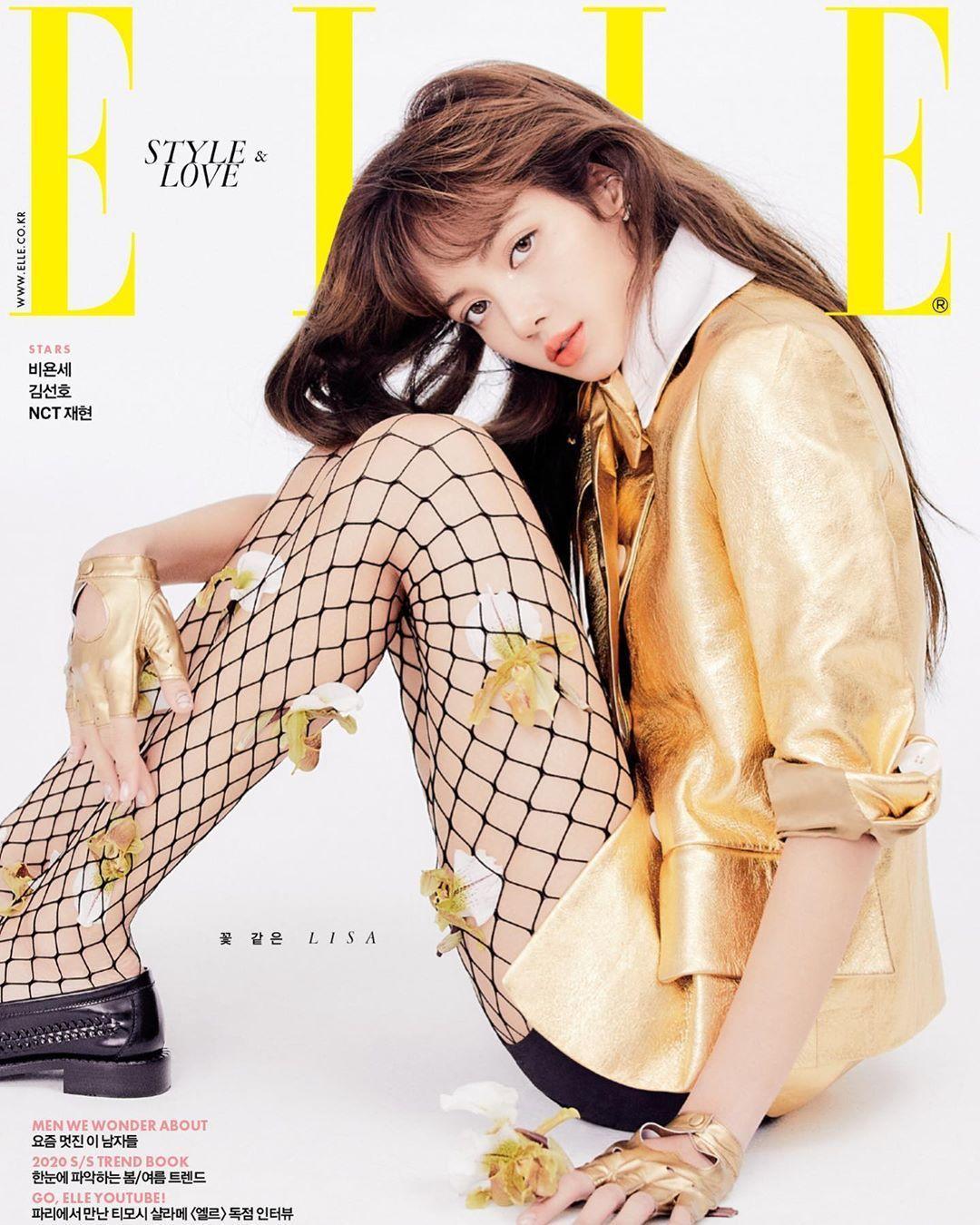 Lisa for ELLE Korea 1