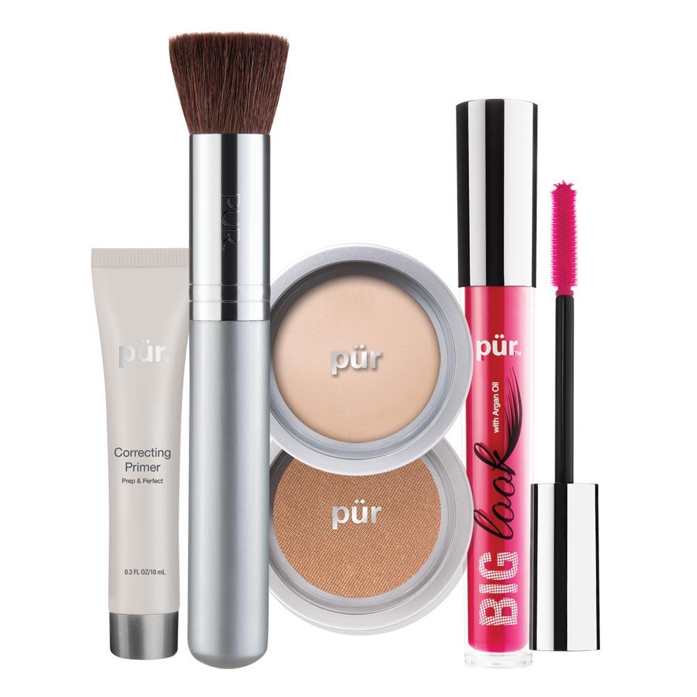 Pur Minerals cung cấp trọn bộ trang điểm khoáng tiện dụng cho phái đẹp.