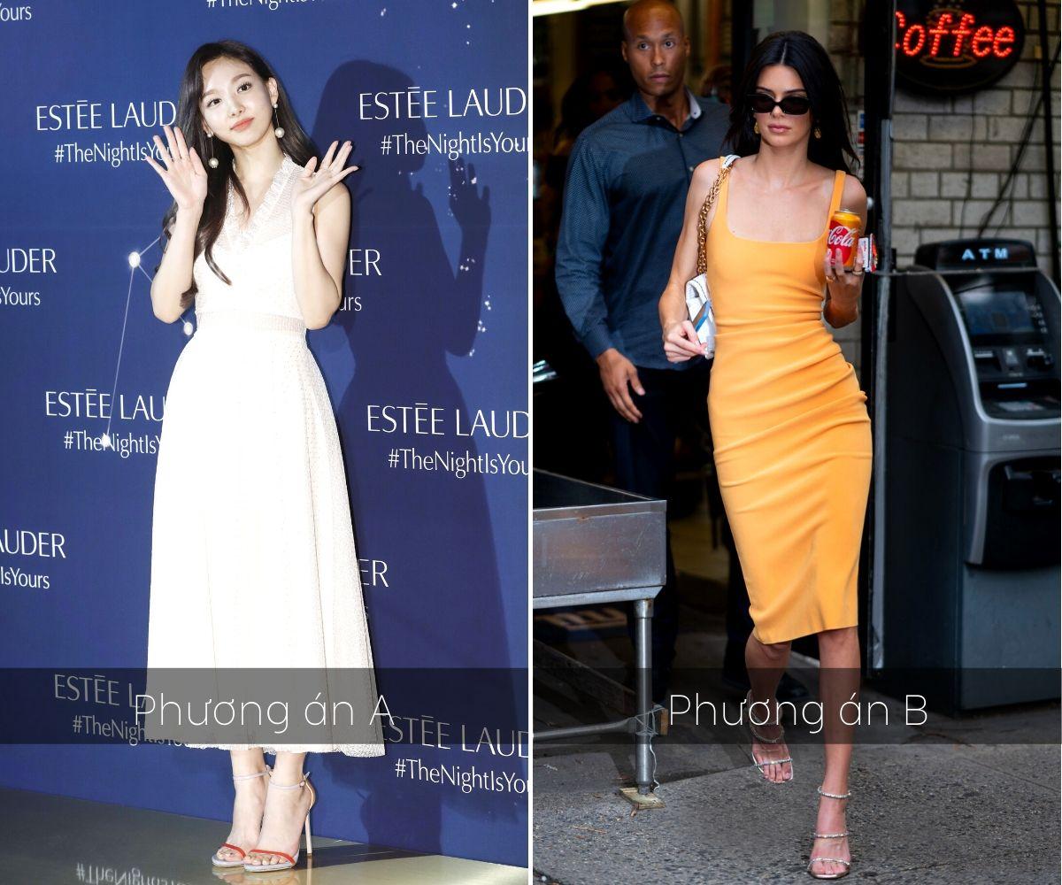 trắc nghiệm thời trang phong cách dự tiệc váy đầm hàn quốc âu mỹ