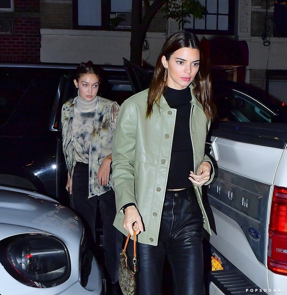 Mặc đẹp như Kendall Jenner và Gigi Hadid với trang phục màu xanh xám