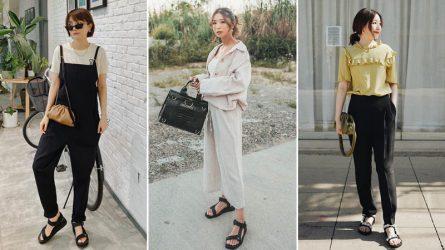 Gợi ý mặc đẹp với giày sandal nữ đế thô trong mọi hoàn cảnh