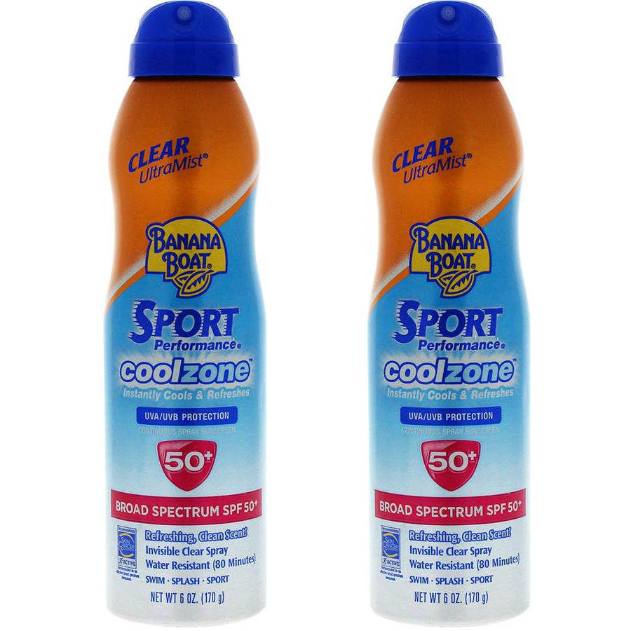 xịt chống nắng Banana Boat Sport CoolZone SPF50+ PA++++.