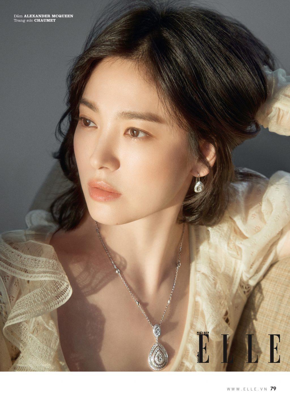 Song Hye Kyo luôn thoa kem chống nắng
