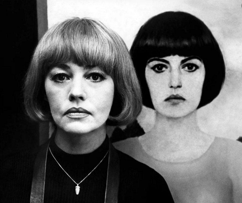 Jeanne Moreau với kiểu tóc French bob trong phim The Bride Wore Black.