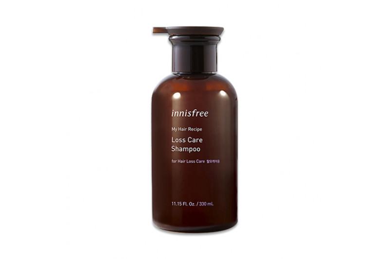 dầu gội nuôi dưỡng chân tóc yếu Innisfree My Hair Recipe Strength Shampoo