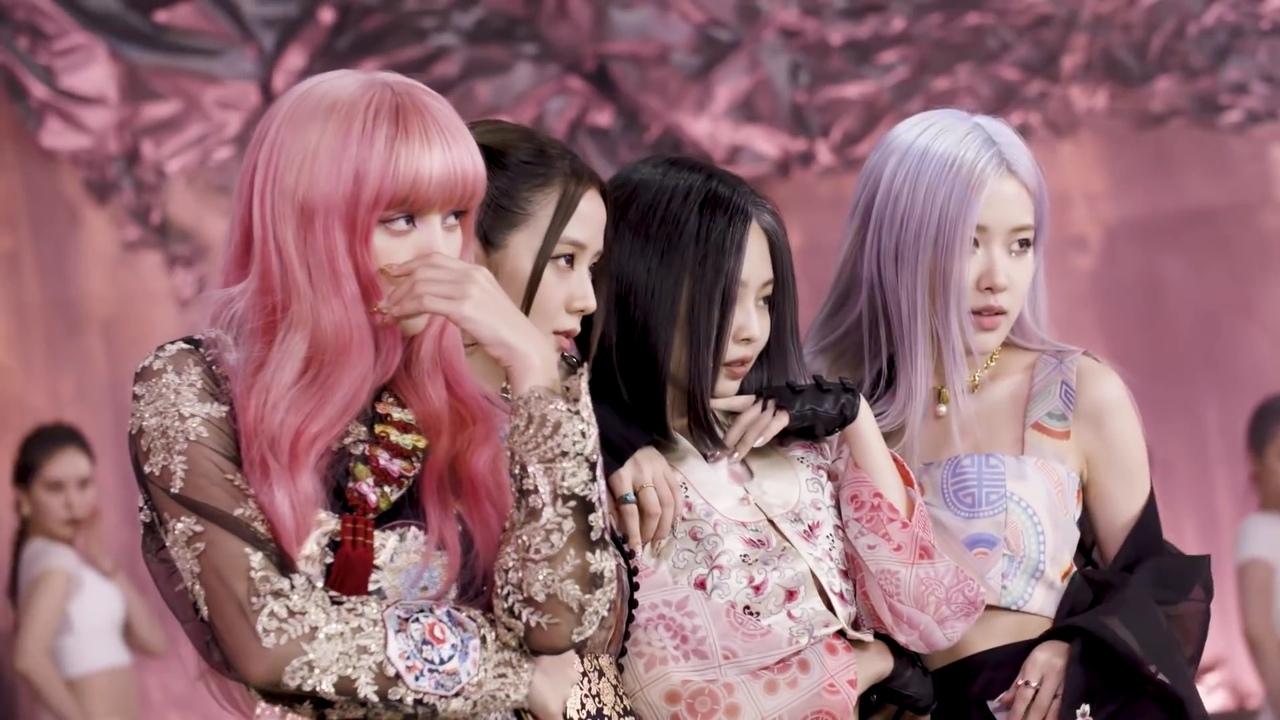 Blackpink mv how you like that trang phục hanbok truyền thống hàn quốc