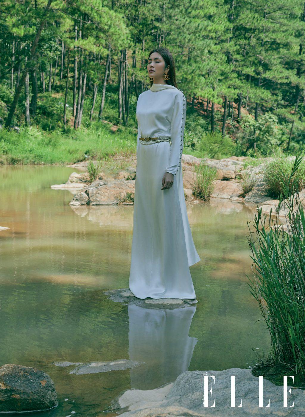 Tăng Thanh Hà gương mặt trang bìa ELLE