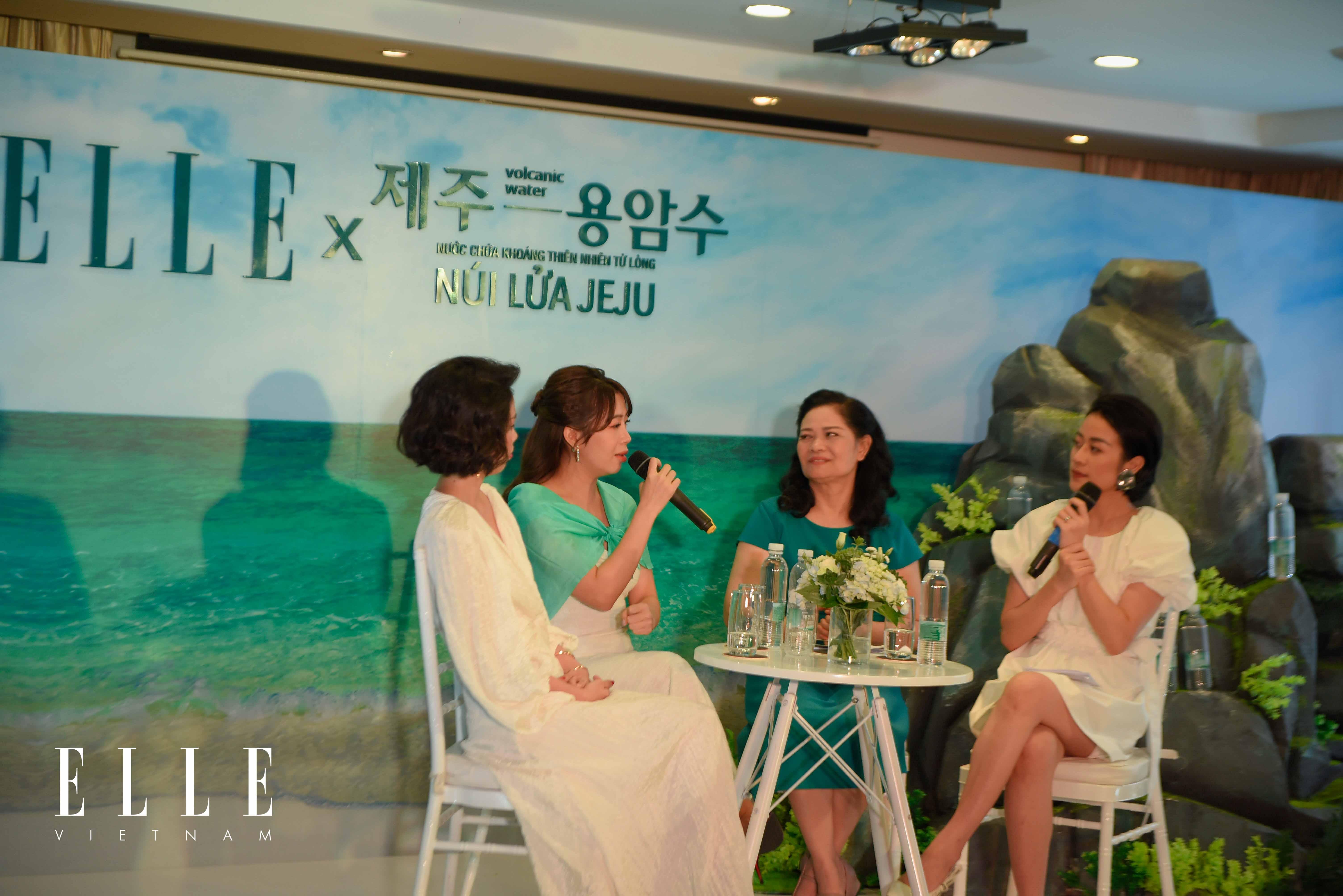 nước khoáng Jeju MC Diệp Chi