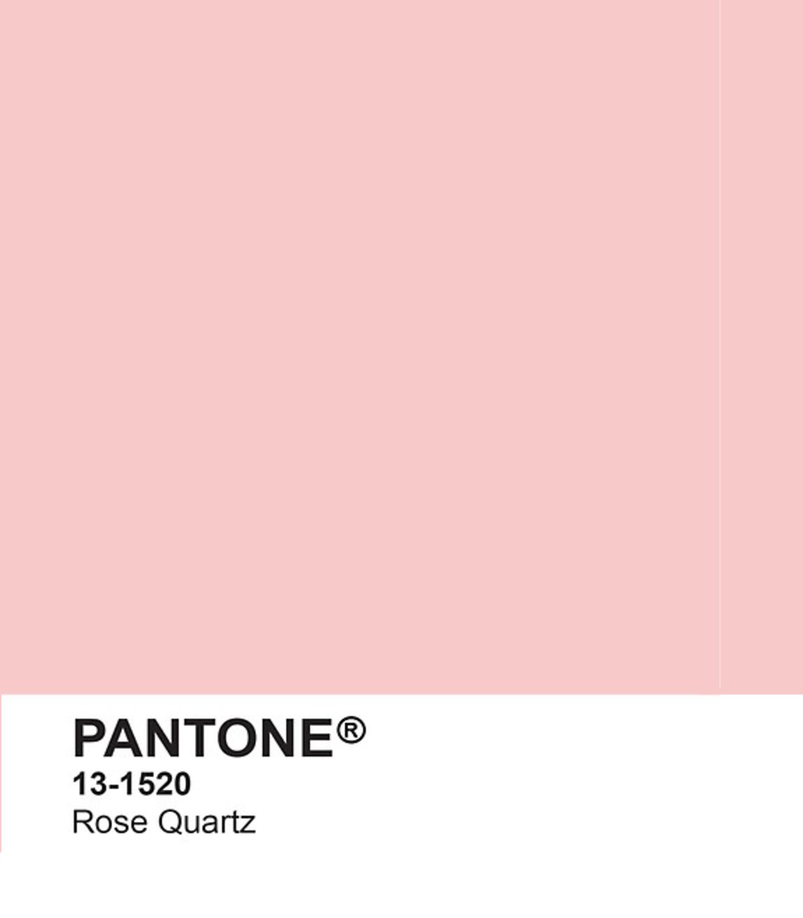 bảng màu của viện pantone màu hồng thạch anh rose quartz