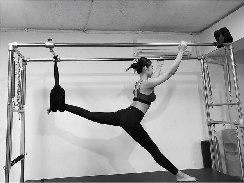 bài tập thể dục - jennie