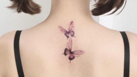 Những hình xăm bươm bướm khiến trái tim phái đẹp