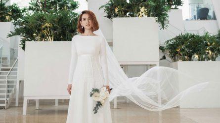 Xu hướng váy cưới tối giản