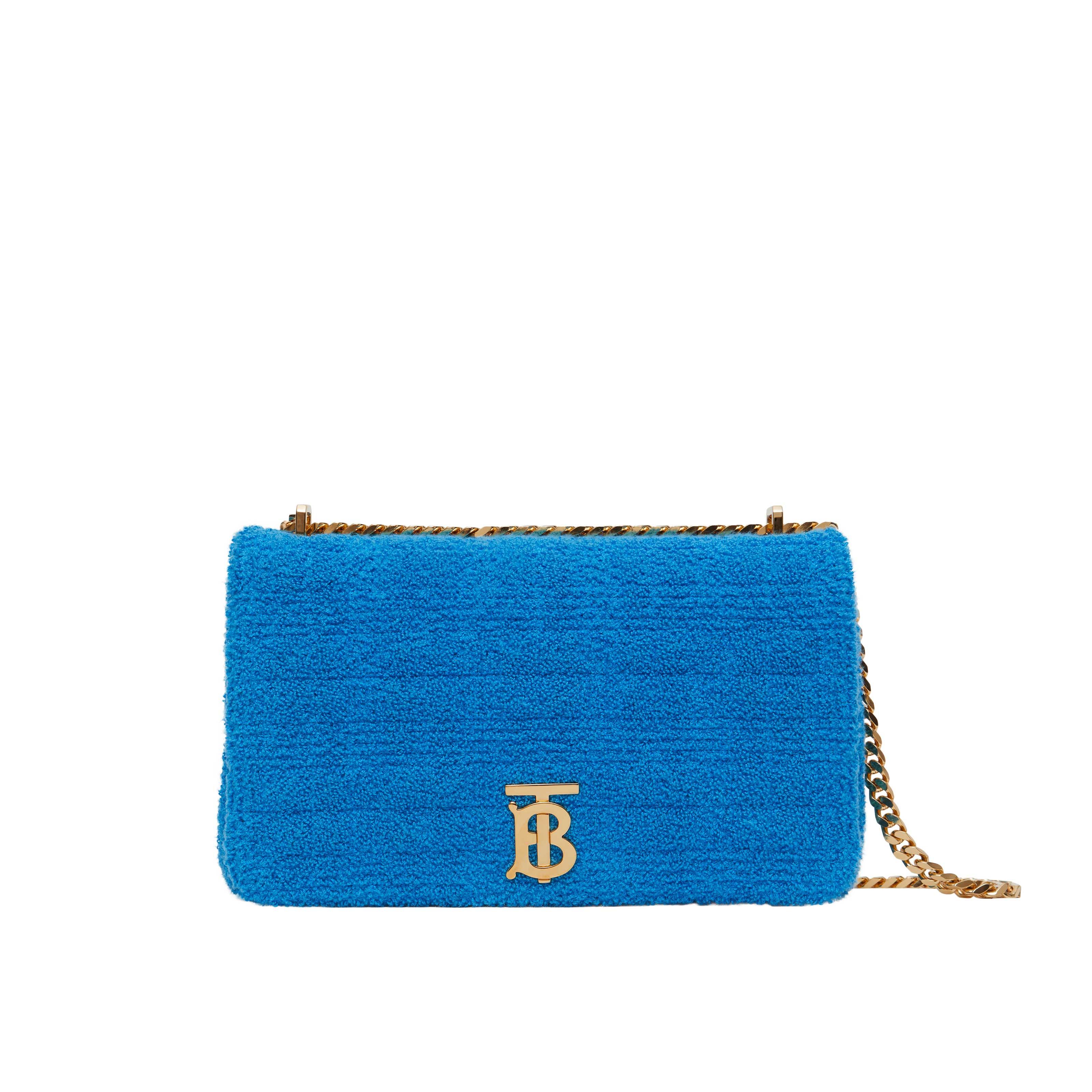 Túi đeo chéo Burberry TB Summer Monogram màu xanh