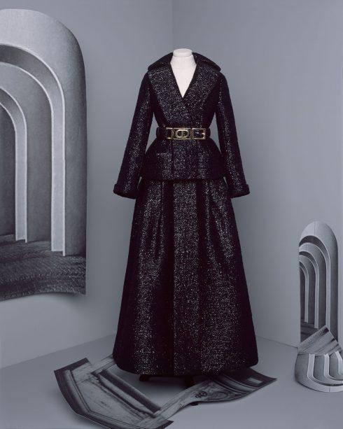 <br/>bst dior haute couture thu đông 2021 look 18