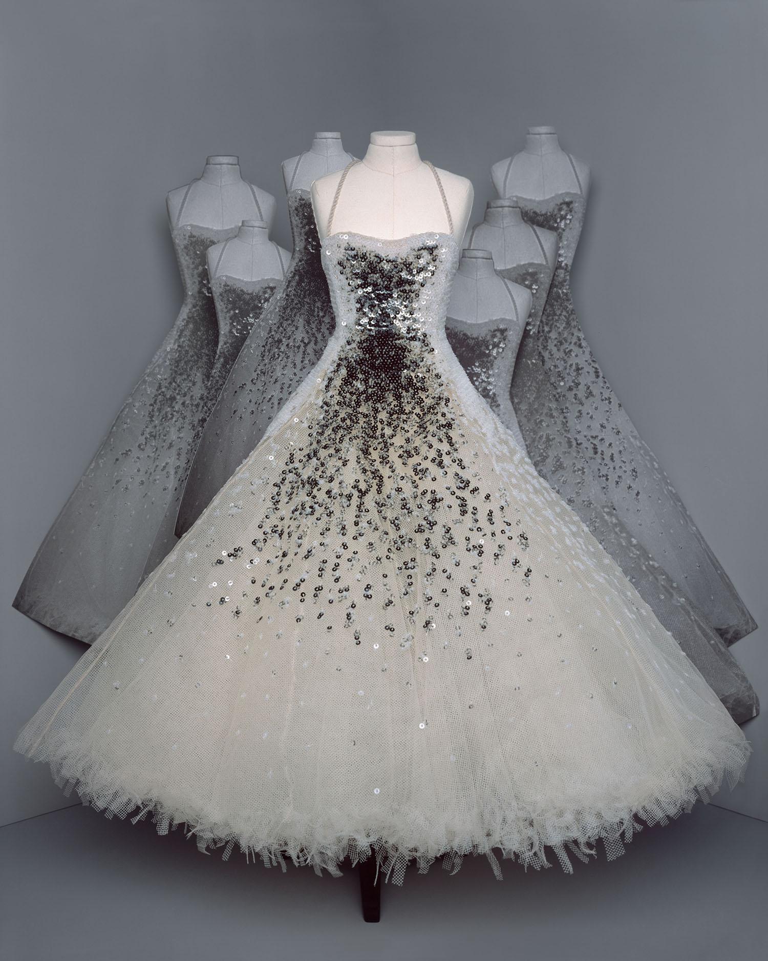 bst dior haute couture thu đông 2021 look 21
