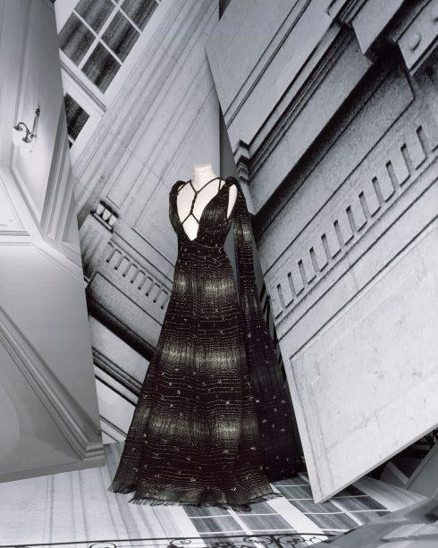 <br/>bst dior haute couture thu đông 2021 look 22