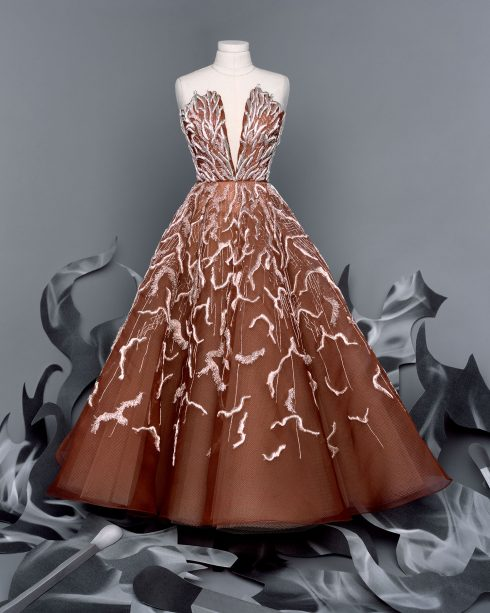 <br/>bst dior haute couture thu đông 2021 look 24
