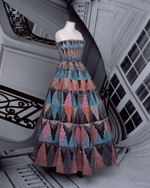 <br/>bst dior haute couture thu đông 2021 look 25