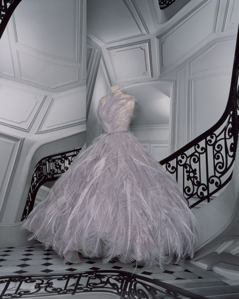 <br/>bst dior haute couture thu đông 2021 look 28